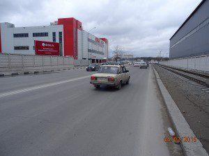 Мира - Магистральная (напротив NLE), щит №6