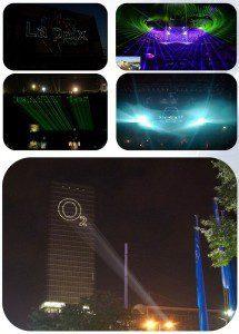 Лазерная реклама Краснодар аренда покупка, виды, примеры