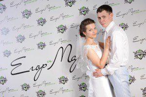 пресс волл для свадеб