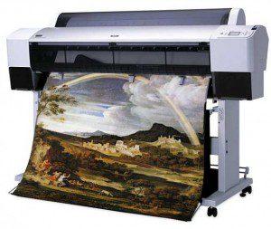 Штрокоформатная печать