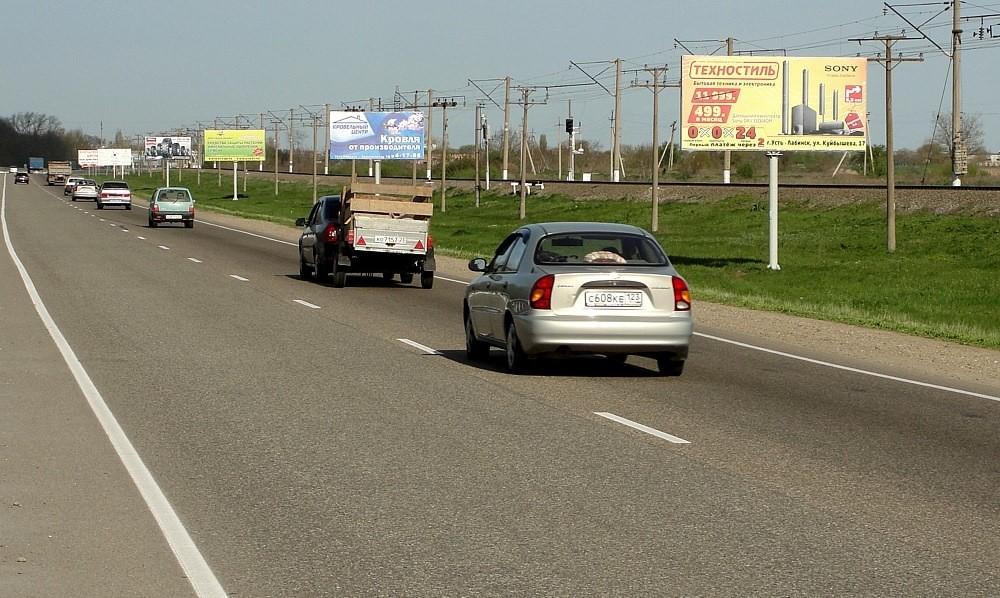 щит 3х6 Усть-Лабинск, трасса краснодр-кропоткин