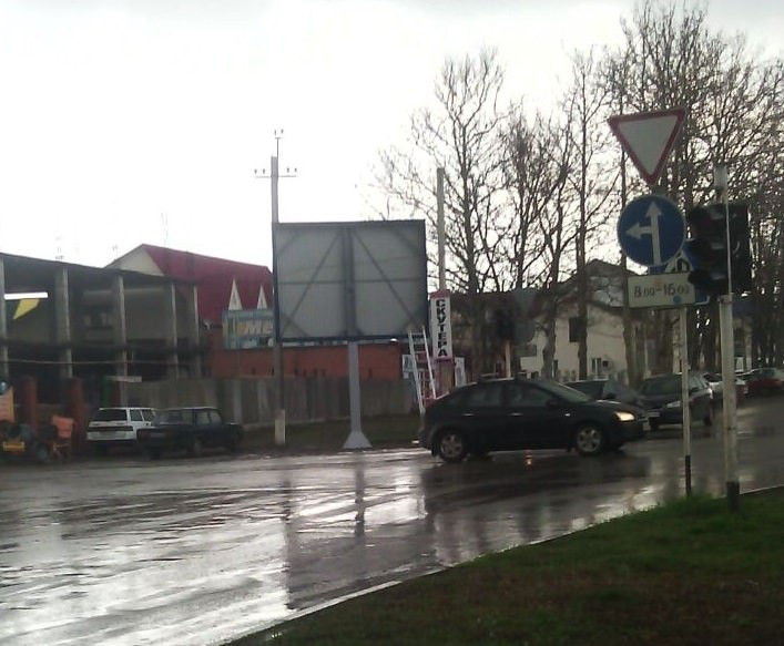 рекламные щиты Ленинградская