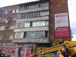 Брандмауэр в Каневской