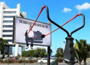 рекламный щит фото