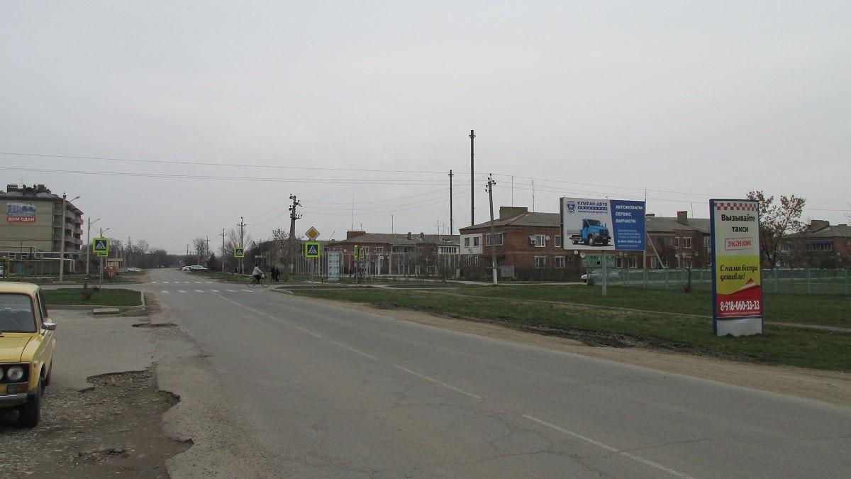 рекламные щиты в Полтавской