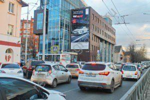 размещение рекламы на брандмауэрах краснодар