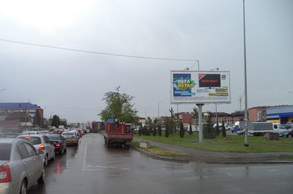 рекламные щиты в краснодаре в районе Ленты на Российской