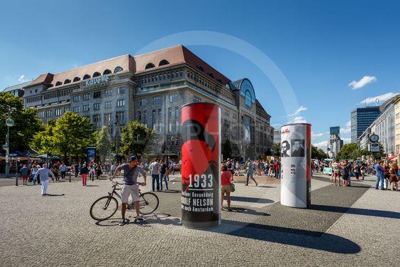 афишная тумба в Германии