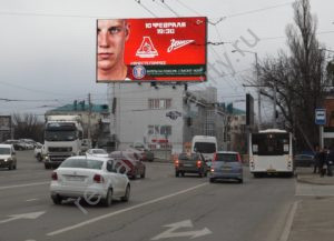 медиафасад Краснодар, Ялтинская - Северная