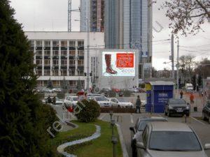 аренда медиафасада на театральной пл. Краснодар