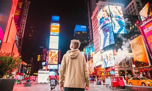реклама в городе