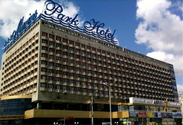 крышная реклама-отель
