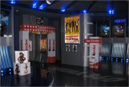 интерьерная реклама кинотеатра