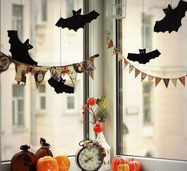витрина к Хэллоуину