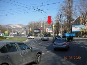 реклама на Кутузовском кольце Новороссийск