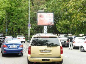 рекламный щит в сочи