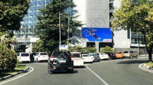 рекламный щит экран Курортный пр-т,18 ( Сочи Плаза)