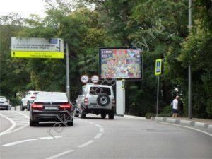 рекламный щит Курортный проспект, Фабрициуса-А